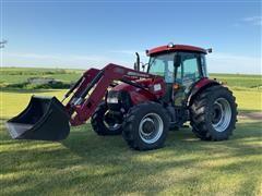 2008 Case IH Farmall 95 MFWD Utility Tractor
