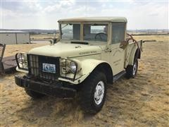 1953 Dodge M37 4x4 Fire Truck