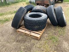 275/80R22.5 Truck Tires & Steel Rims