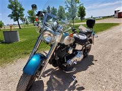 2004 Harley Davidson FLSTF Fatboy Motorcycle