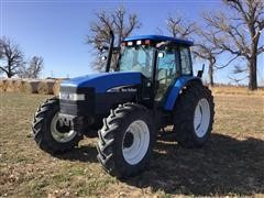 2003 New Holland TM120 MFWD Tractor