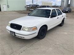 2000 Ford Police Interceptor 4 Door Sedan