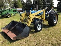 1974 Ford 4000 2WD Tractor W/Loader