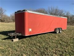 1986 Interstate 27' T/A Enclosed Trailer