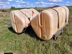 Ag-Chem Twin 250 Gal Saddle Tanks