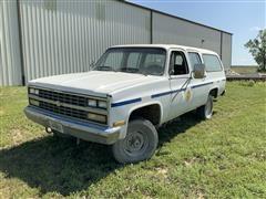 1990 Chevrolet Scottsdale 1500 4x4 Suburban