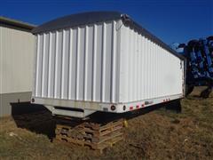 Scott 20' Steel Truck Grain Box W / Scott Hoist