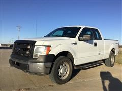 2013 Ford F150 XL 4X4 Extended Cab Pickup