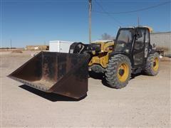 2014 Caterpillar TH406C 4x4x4 Telehandler W/Bucket