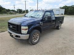2009 Ford F350 4x4 Extended Cab Service Truck