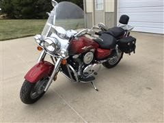 2003 Kawasaki Vulcan 1600 Classic Motorcycle