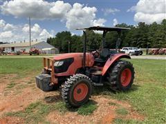 2011 Kubota M6040 MFWD Tractor