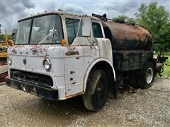 1969 Ford C-800 Cabover Oil Distributor Truck