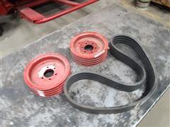 Low Speed Belt & Pulleys