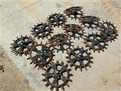Yetter 2555-180 Cast Spike Planter Wheels