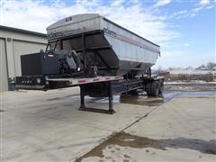 2014 Adams 38 T/A 32' Self Contained Dry Fertilizer Tender Trailer