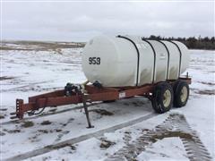 Ag Systems G1000 1050 Gal Liquid Fertilizer Nurse Trailer