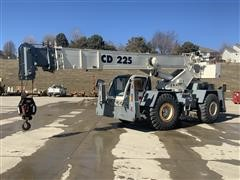 1999 Terex CD225 4x4x4 Rough Terrain Crane