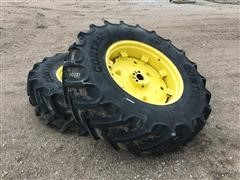Continental 460/85R34 Tires On John Deere Rims W/Cast Centers