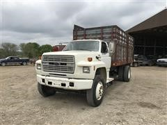 1991 Ford F800 Silage Truck