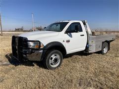 2011 Ram 4500 4x4 Flatbed Pickup