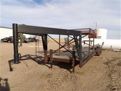 Shop Built Tri/A Gooseneck 5th Wheel Flatbed Trailer