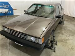 1984 Toyota Turbo Diesel 4 Dr Camry