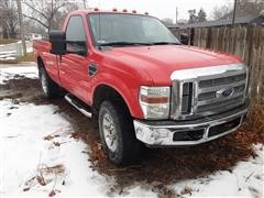 2008 Ford F350XLT Super Duty 4x4 Pickup