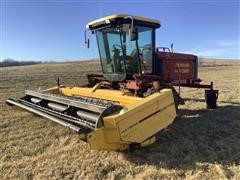 New Holland HW320 Self Propelled Windrower