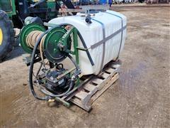 Spray Tank W/Pump & Hose Reel