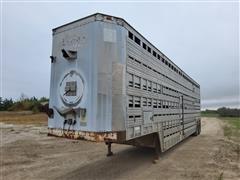 1978 American T/A Livestock Trailer