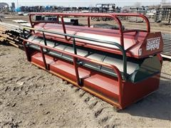 Behlen 10' Wide Steel Feed Bunks
