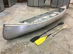 Alumacraft QT15C 15' Aluminum Canoe
