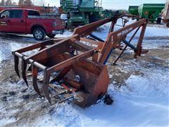 DU-AL 340 Loader & Grapple W/ PTO Pump