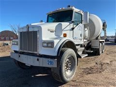 2000 Kenworth T800 T/A Concrete Transit Mixer W/Booster