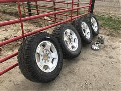 Hercules Aluminum Wheels & LT275/65R18 Tires