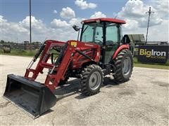 2014 Mahindra 2565 4WD Compact Utility Tractor W/Loader