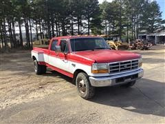 1996 Ford F350 XLT 2WD Pickup (INOPERABLE)
