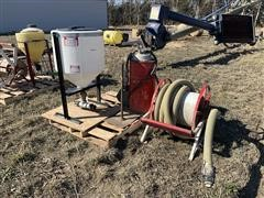 30-Gal Chemical Tank W/Hose & Reel