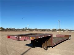 2000 Fontaine T/A Double Drop Flatbed Trailer