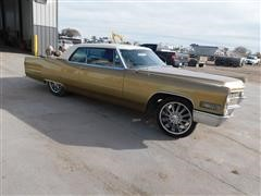 1966 Cadillac Coupe Deville 2-Door Sedan (INOPERABLE)