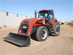 2010 Case IH Magnum 190 MFWD Tractor W/Loader
