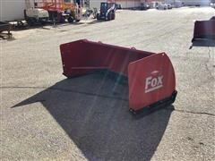 Hiniker 8' Fox Snow Pusher Skid Steer Attachment