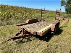 1994 Road King T/A Flatbed Trailer
