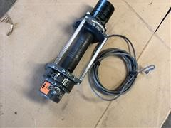 Warn Industrial Series 6 6000 Lbs Hydraulic Winch W/short Cable