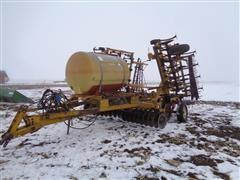 Kent 24' Disk-O-Vator Field Cultivator W/Liquid Tank