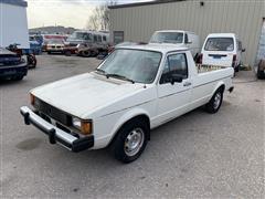 1981 Volkswagen Jetta LX 2WD Pickup Truck (INOPERABLE)