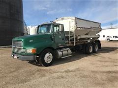1995 Ford LTL9000 T/A Dry Fertilizer Tender Truck