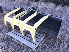 MDS MB114-78 Skid Steer Manure Bucket