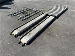 U-Haul Aluminum Walk Ramp W/ Additional Loading Ramps